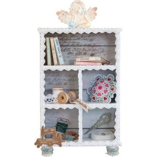 Objekten zum Dekorieren / objects for decorating Collector box, 149 x 54 x 210 mm, 5 lille vindue