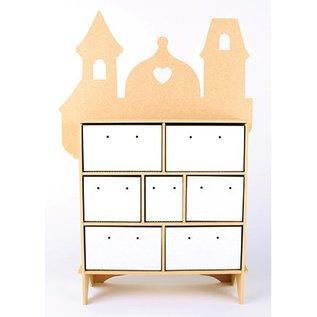 Objekten zum Dekorieren / objects for decorating Collector box, MFD, 254 x 104 x 360 mm