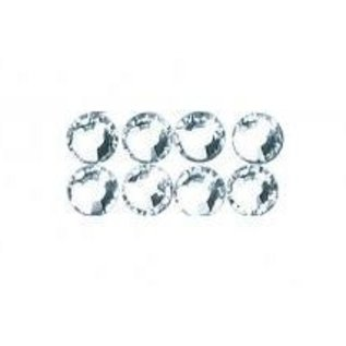 Cristallo Swarovski perline per il ferro, 3 mm, scheda-blister 20 pc, cristallo