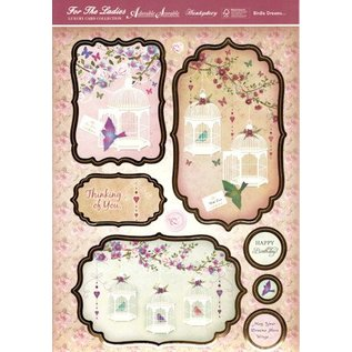 "BASTELSETS / CRAFT KITS Luksus Craft Kit card design ""Birdie Dreams"" (begrænset)"