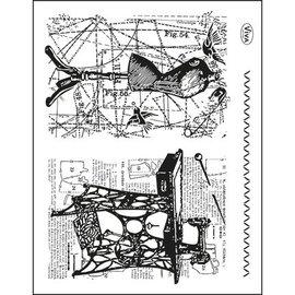 My paperworld (Viva Decor) Transparente Stempel, Thema: Nähen