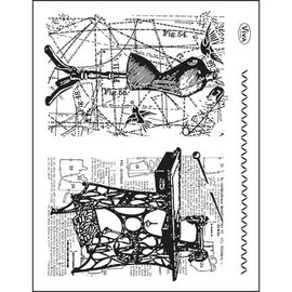 My paperworld (Viva Decor) Trasparente francobolli Topic: cucito