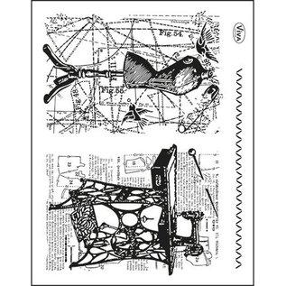 VIVA DEKOR (MY PAPERWORLD) Transparent frimærker Emne: Syning