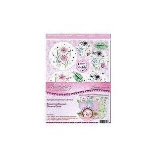 "Luxus Bastelset Karten-Gestaltung ""Blossoming Bouquets"", (Limited)"