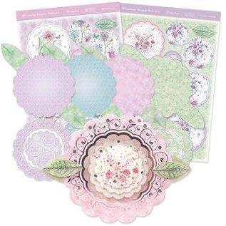 """Luksus Craft Kit card design """"Blomstrende buket"""" (Limited)"""