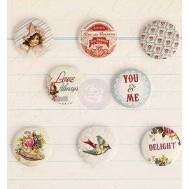 Prima Marketing und Petaloo 8 botões nostálgicas