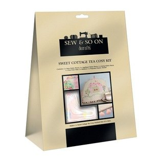 Textil Sweet Cottage Tea Cosy Kit