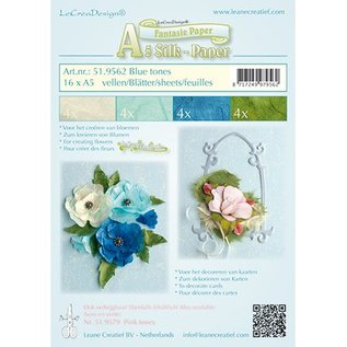 Leane Creatief - Lea'bilities For at gøre fancy papir til blomster, 16 ark A5