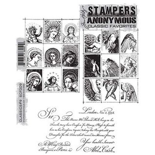 Tim Holtz Mounted stamp,classics 2 scf009