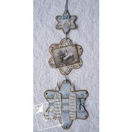 Joy!Crafts / Hobby Solutions Dies Joy Crafts, skæring og prægning stencil, 3 stjerner
