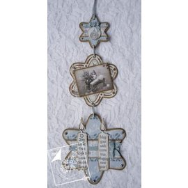 Joy!Crafts / Jeanine´s Art, Hobby Solutions Dies /  Joy Crafts, skæring og prægning stencil, 3 stjerner