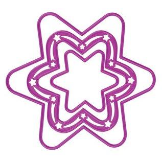 Joy!Crafts / Hobby Solutions Dies Joy Crafts, Schneide- und Prägeschablone, 3 Sterne