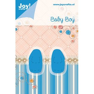 Joy!Crafts / Hobby Solutions Dies Baby Boy, Baby Schuhe