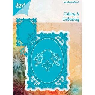 Joy!Crafts / Hobby Solutions Dies Ovales les lis de Bourbon