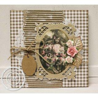 Joy!Crafts / Hobby Solutions Dies Oval die bourbonische Lilien