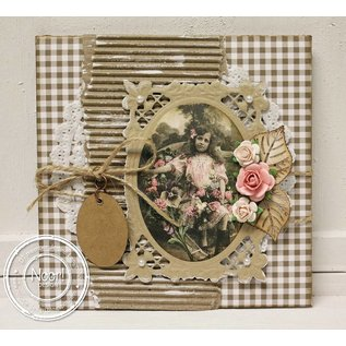 Joy!Crafts / Jeanine´s Art, Hobby Solutions Dies /  Oval Bourbon liljer