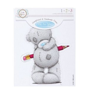 Me to You Håndlavet af - Tatty TEDDY TOPPER (bare en note)