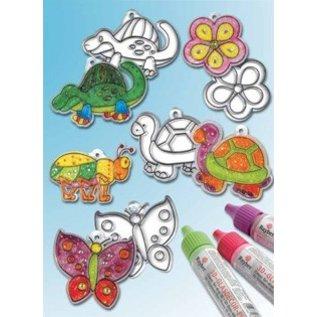 Kinder Bastelsets / Kids Craft Kits Acrylic Pendants, different designs