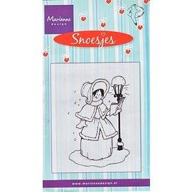 Marianne Design tampons transparents, Snoesjes, Caroler