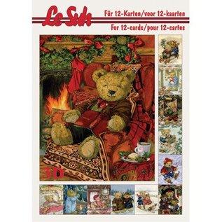 Bücher und CD / Magazines Le Suh 3D A5, Beren decoupage ark.