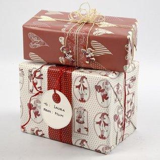 Embellishments / Verzierungen 10 Geschenkanhänger af kraftigt pap