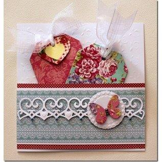 Textil Nostalgic fabric labels tags, sorted 30Stück, 6013-0781