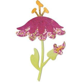Sizzix Stempelen sjabloon, bloem