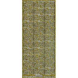 Sticker Glitter Ziersticker, 10 x 23cm, Sterne.