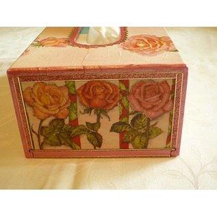 Objekten zum Dekorieren / objects for decorating Towelette kasse størrelse 27x14x8 cm, Kaiser Tree, 1 stk.