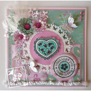Joy!Crafts / Hobby Solutions Dies Punching template: Doily