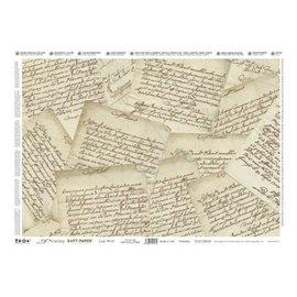 DECOUPAGE AND ACCESSOIRES Decoupage, Precious 35x50cm de softpaper, Lettres précieux.