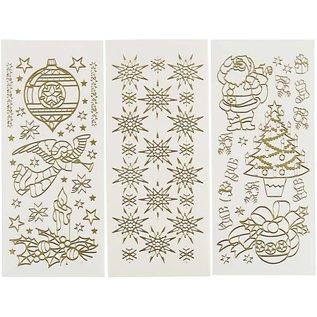 Sticker 20 verschillende kerst stickervel!