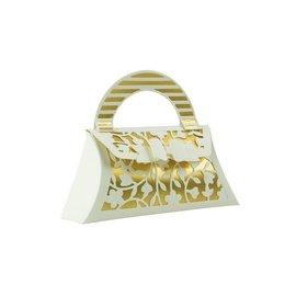 Tonic Ponsen en embossing sjabloon: Een mooie 3D pocket