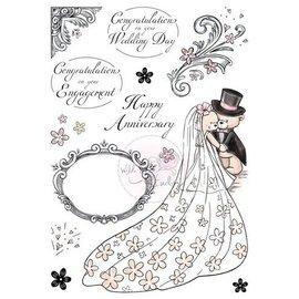 Wild Rose Studio`s Gennemsigtige frimærker, A5: Romantik