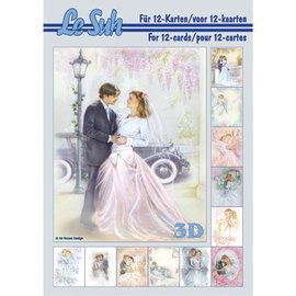 Bilder, 3D Bilder und ausgestanzte Teile usw... Book A5, with pictures wedding - back in stock!