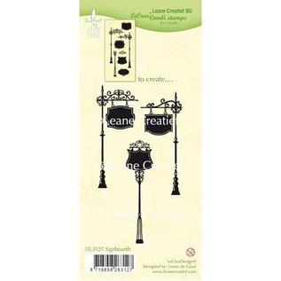 Leane Creatief - Lea'bilities Gennemsigtige frimærker: Skilte