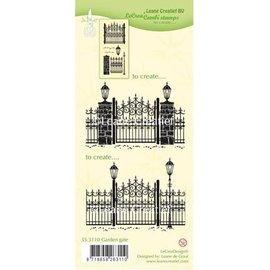 Leane Creatief - Lea'bilities Transparante stempels: Garden Gate