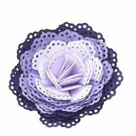 EK Succes, Martha Stewart doily dimensional EK perfurador 3D / 3D flor