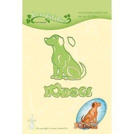 Leane Creatief - Lea'bilities stampi di taglio: Dog
