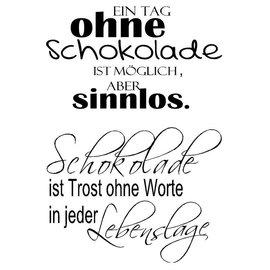 Stempel / Stamp: Transparent Selo Transparente, texto em alemão
