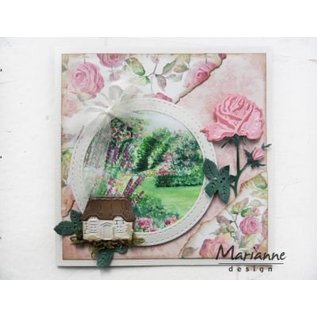 Marianne Design Stanzschablone: Tiny's Rose