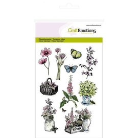Wild Rose Studio`s A6 stamp: spice rack, boxes and garden Assecoires