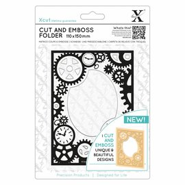 Docrafts / Papermania / Urban Cutting and embossing stencil, steampunk gears