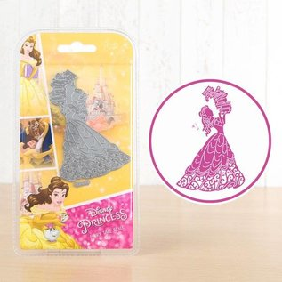 DISNEY Cutting dies SET: Disney + stamp Princess Fairy Facial