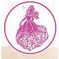 DISNEY Bakker SET: Disney Princess + stempel Waltzing Belle Face