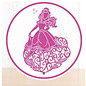 DISNEY Skæring dør SET: Disney Princess + stempel Waltzing Belle Face