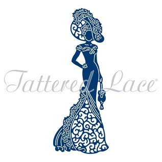 Tattered Lace Stanzschablone : Tattered Lace Mary