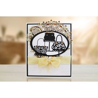 Tattered Lace Stamping template: Tattered Lace Handbag Boutique