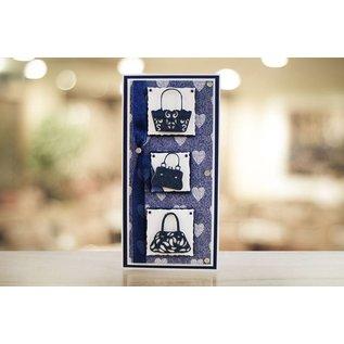 Tattered Lace Stansning skabelon: Tattered Lace håndtaske Boutique