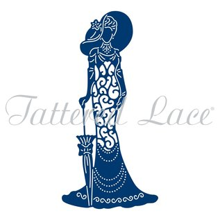 Tattered Lace Stansning skabelon: Tattered Lace Mary